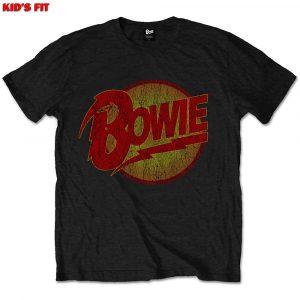 David Bowie Kids T-Shirt: Vintage Diamond Dogs Logo (1 - 2 Years)