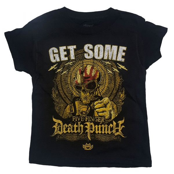 Five Finger Death Punch Kids T-Shirt: Get Some (12 - 13 Years)