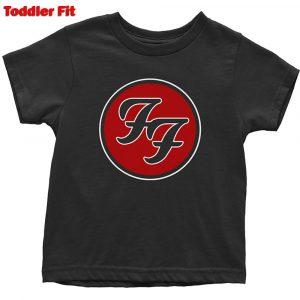 Foo Fighters Kids T-Shirt (Toddler): FF Logo (5 Years)