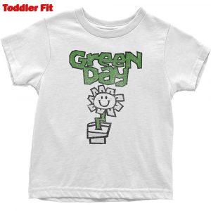 Green Day Kids T-Shirt (Toddler): Flower Pot (5 Years)