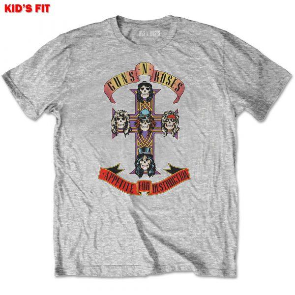 Guns N' Roses Kids T-Shirt: Appetite for Destruction (13 - 14 Years)