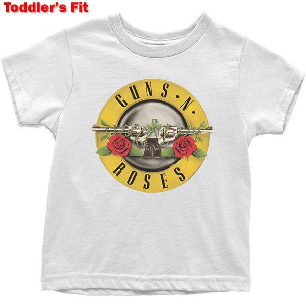 Guns N' Roses Kids T-Shirt (Toddler): Classic Logo (5 Years)