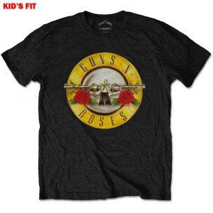 Guns N' Roses Kids T-Shirt: Classic Logo (Retail Pack) (11 - 12 Years)