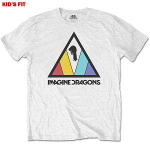Imagine Dragons Kids T-Shirt: Triangle Logo (13-14 Years)