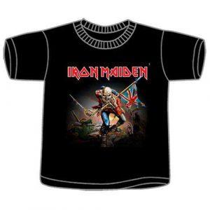 Iron Maiden Kids T-Shirt: Trooper (12 - 13 Years)