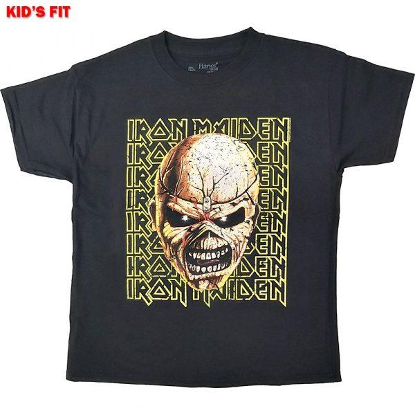 Iron Maiden Kids T-Shirt: Big Trooper Head (12 - 13 Years)