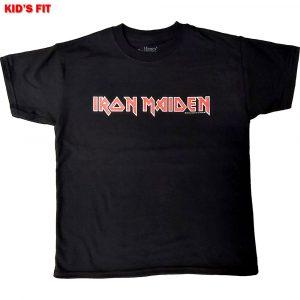 Iron Maiden Kids T-Shirt: Logo (12 - 13 Years)
