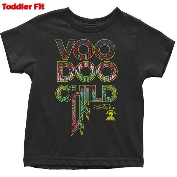 Jimi Hendrix Kids T-Shirt (Toddler): Voodoo Child (5 Years)