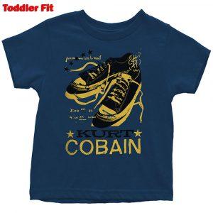 Kurt Cobain Kids T-Shirt (Toddler): Laces (5 Years)