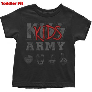 KISS Kids T-Shirt (Toddler): Army (5 Years)