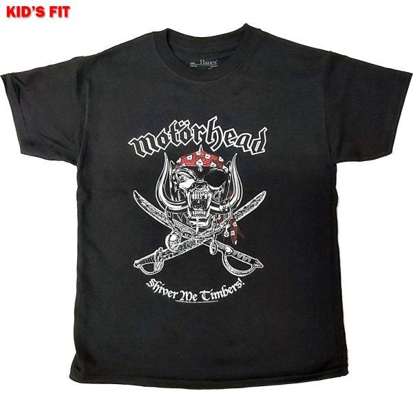 Motorhead Kids T-Shirt: Shiver Me Timbers (12 - 13 Years)