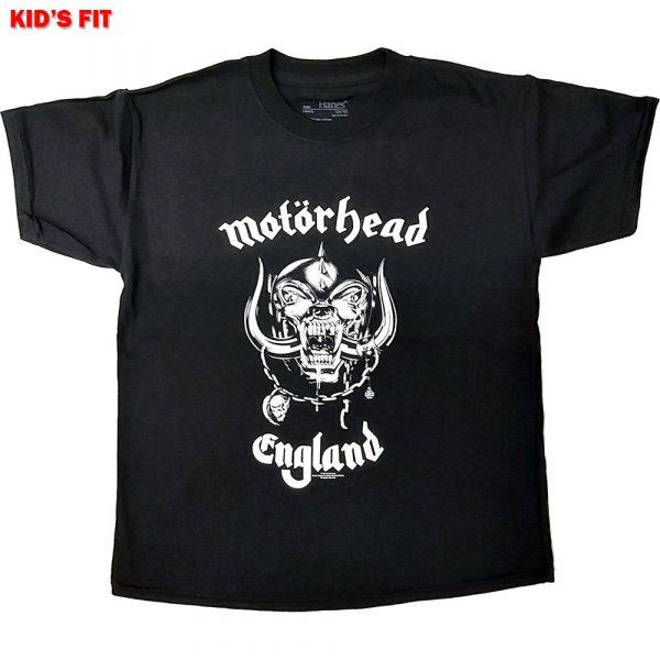 Motorhead Kids T-Shirt: England (12 - 13 Years)