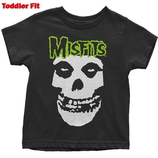 Misfits Kids T-Shirt (Toddler): Skull & Logo (5 Years)