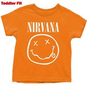 Nirvana Kids T-Shirt (Toddler): White Smiley (5 Years)