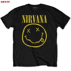 Nirvana Kids T-Shirt: Yellow Smiley (11 - 12 Years)