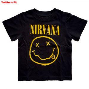 Nirvana Kids T-Shirt (Toddler): Yellow Smiley (5 Years)