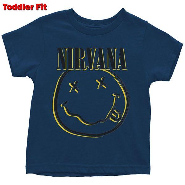 Nirvana Kids T-Shirt (Toddler): Inverse Smiley (5 Years)