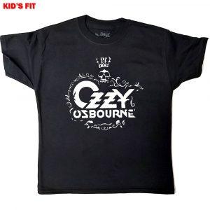 Ozzy Osbourne Kids T-Shirt: Logo (12 - 13 Years)