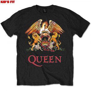 Queen Kids T-Shirt: Classic Crest (1-2 Years)