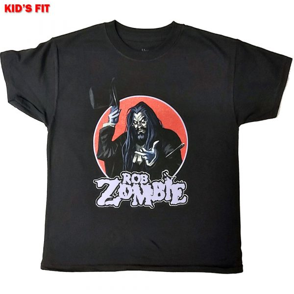 Rob Zombie Kids T-Shirt: Magician (12 - 13 Years)