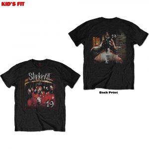 Slipknot Kids T-Shirt: Debut Album - 19 Years (Back Print) (13 - 14 Years)