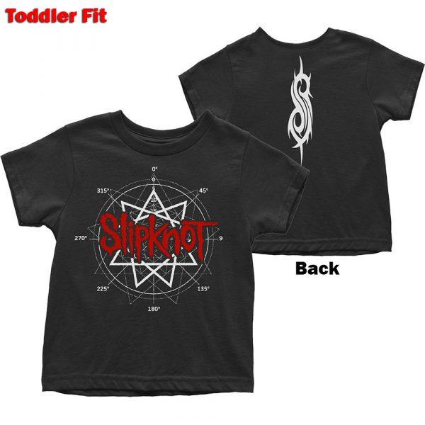 Slipknot Kids T-Shirt (Toddler): Star Logo (Back Print) (5 Years)