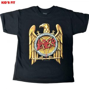 Slayer Kids T-Shirt: Gold Eagle (12 - 13 Years)