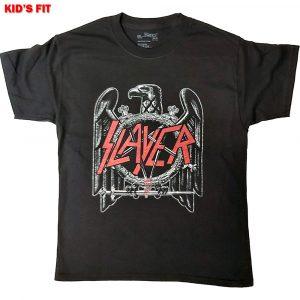 Slayer Kids T-Shirt: Black Eagle (12 - 13 Years)
