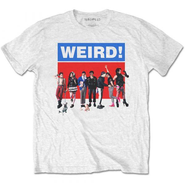 Yungblud Mens T-Shirt: Weird (XX-Large)