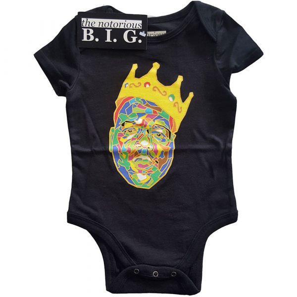 Biggie Smalls Kids Baby Grow: Crown (24 Months)