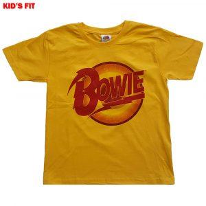 David Bowie Kids T-Shirt: Diamond Dogs Logo (13 - 14 Years)