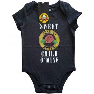 Guns N' Roses Kids Baby Grow: Sweet Child O' Mine (24 Months)