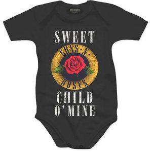 Guns N' Roses Kids Baby Grow: Child O' Mine Rose (24 Months)