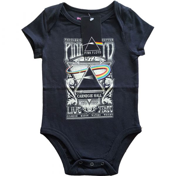 Pink Floyd Kids Baby Grow: Carnegie Hall Poster (24 Months)