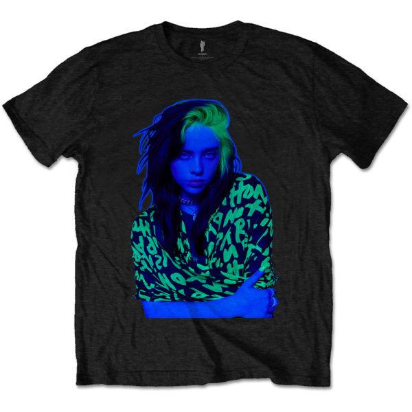 Billie Eilish Mens T-Shirt: Press Photo (XX-Large)