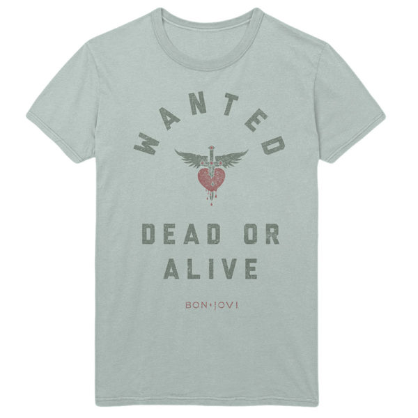Bon Jovi Mens T-Shirt: Wanted (XX-Large)