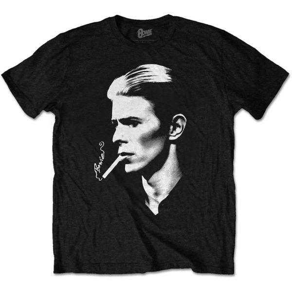 David Bowie Mens T-Shirt: Smoke (XX-Large)