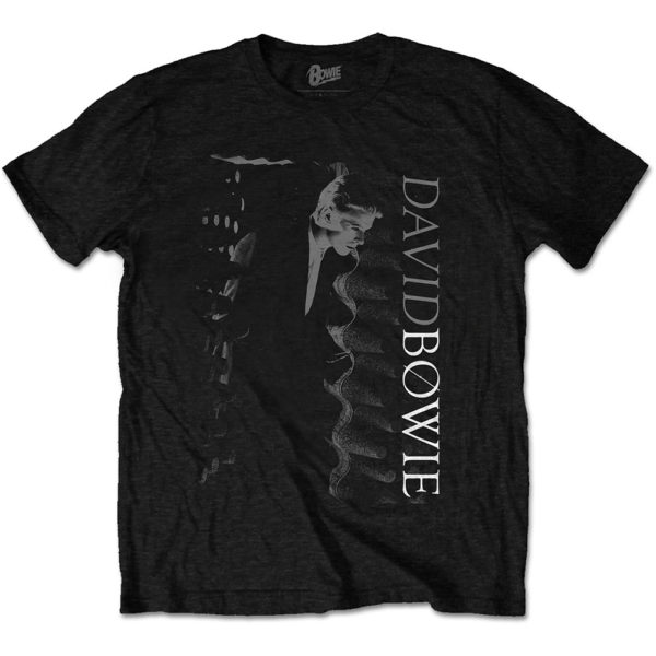 David Bowie Mens T-Shirt: Distorted (XX-Large)