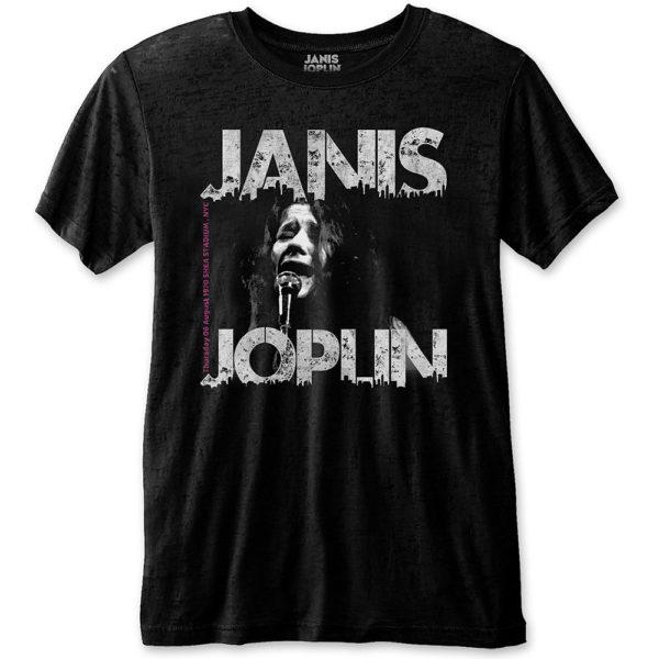 Janis Joplin Mens Eco-T-Shirt: Shea '70 (XX-Large)