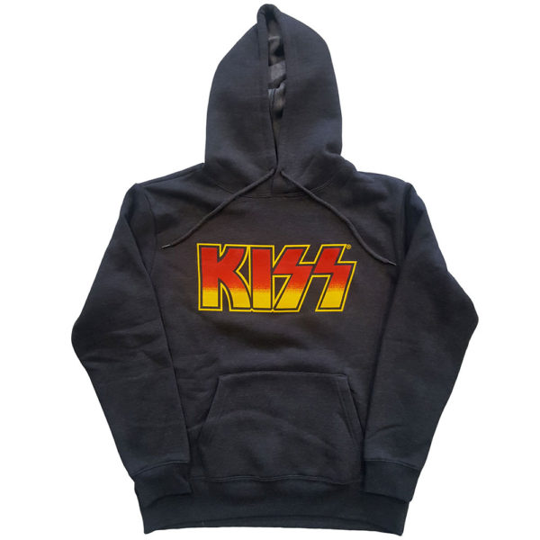 KISS Unisex Pullover Hoodie: Classic Logo (XX-Large)