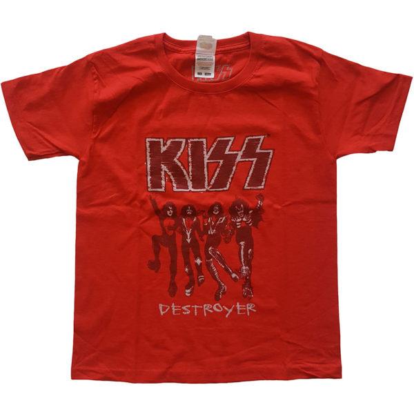 KISS Kids T-Shirt: Destroyer Sketch (13-14 Years)