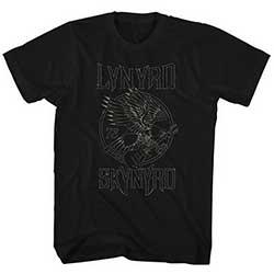 Lynyrd Skynyrd Mens T-Shirt: '73 Eagle Guitar (XX-Large)