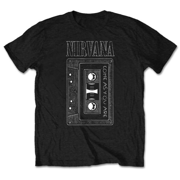 Nirvana Mens T-Shirt: As You Are Tape (XX-Large)