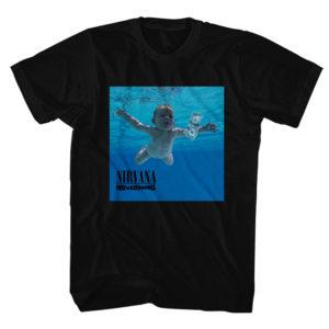 Nirvana Mens T-Shirt: Nevermind Album (XX-Large)