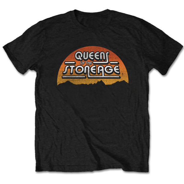 Queens Of The Stone Age Mens T-Shirt: Sunrise (XX-Large)