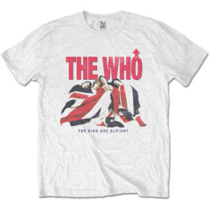 The Who Mens T-Shirt: Kids Are Alright Vintage (XX-Large)