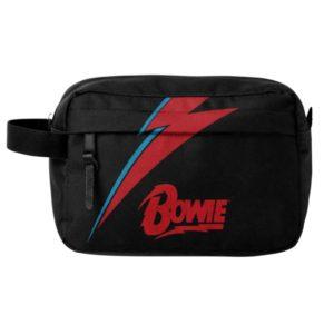 RockSax David Bowie Lightning Wash Bag