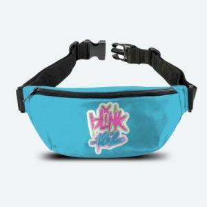 RockSax Blink 182 Logo Blue Bum Bag
