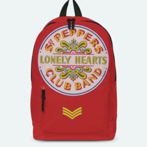 RockSax Beatles Lonley Hearts Red Classic Rucksack