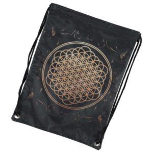 RockSax Bring Me The Horizon Flower of Life Draw String Bag